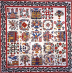Sarah and Mary J. Pool album quilt
